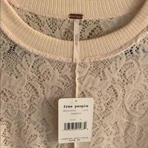 Free People Sweaters - Free People pink long sweater Large